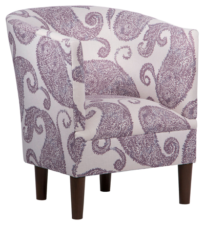 Purple Troy Tub Chair