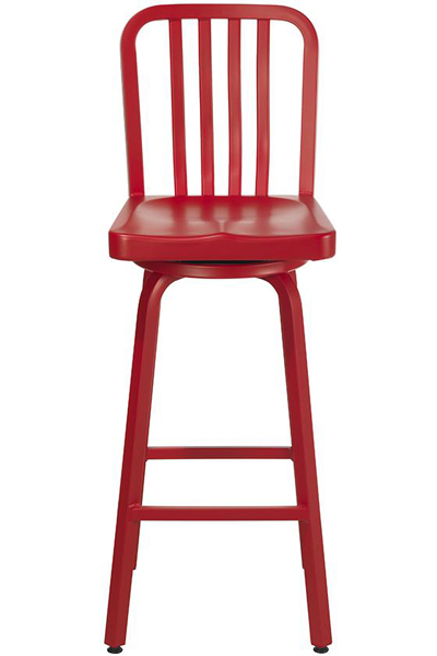 Red Sandra Bar Stool
