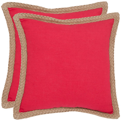Sweet Sorona Red Decorative Pillows