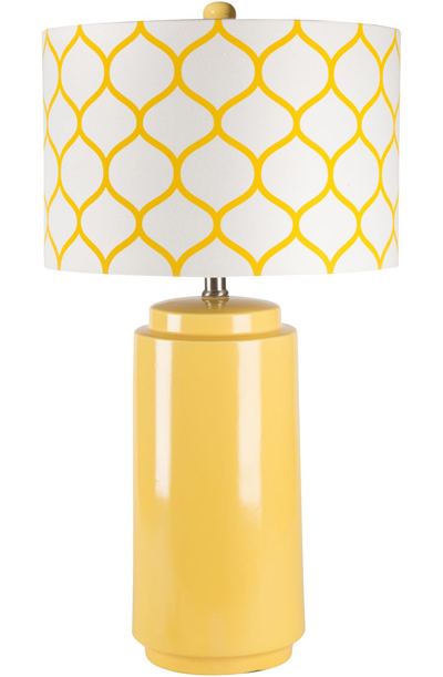 Yellow Olie Lamp