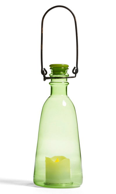 Flameless Candle Hanging Bottle Patio Light