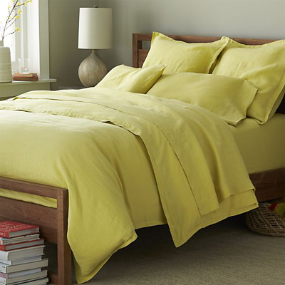 Lino Citron Linen Bedding