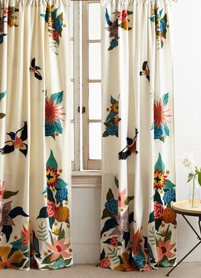 Soaring Starlings Curtain