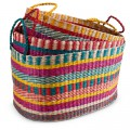 Colorful Seagrass Nesting Baskets