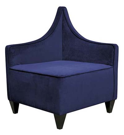Howard Elliott Collection Manhattan Bella Royal Corner Chair