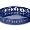 Navy Decorative Ceramic Tray