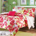Painted Poppy Reversible Bedding Collection