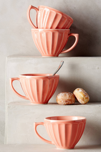 Peach Latte Mugs