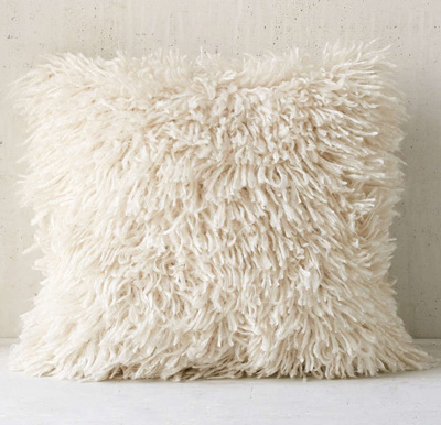 Shaggy Sweater Pillow