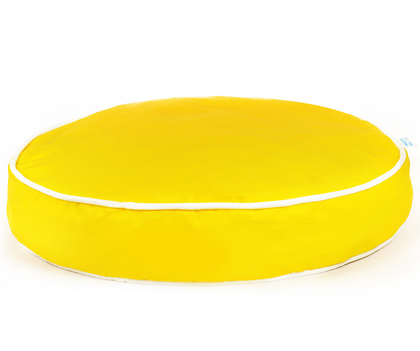 Yellow Benny Basic Circle Bed