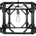 Black Regeant 1-Light Pendant