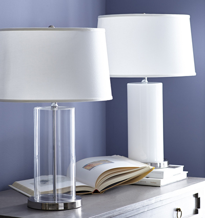 Bullet Glass Table Lamp