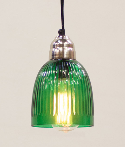 Green Hanging Glass Pendant