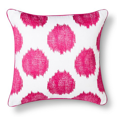Ikat Dots Decorative Pillow