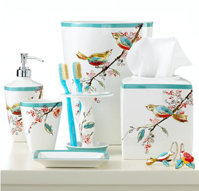 Lenox Simply Fine Chirp Collection Bath Accessories