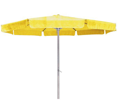 Yellow Outdoor Aluminum Umbrella