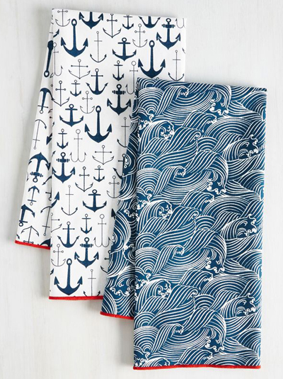 Craving Waves Tea Towel Set