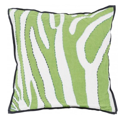 Green Rain Forest Pillow
