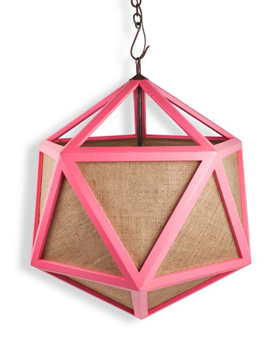 Pink Deca Pendant Light