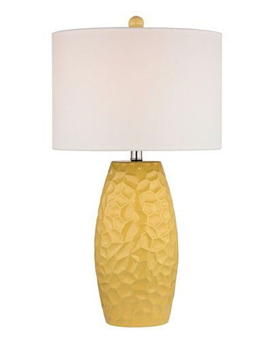 Sunshine Yellow Table Lamp