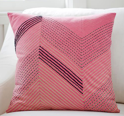 Archdale Embroidered Pillow Cover