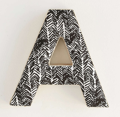 Batik Decorative Letter