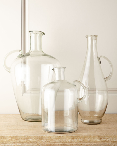 Clear Glass Jugs