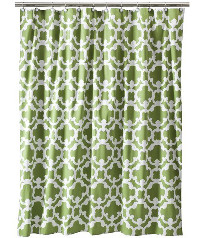 Home Grid Shower Curtain