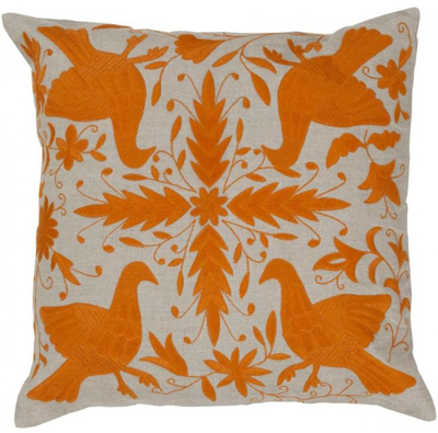 Naval Orange Leah Pillow