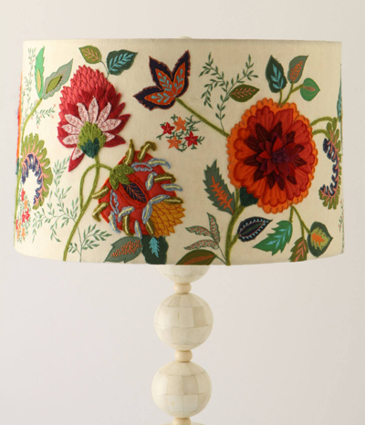 Needlework Garden Lampshade