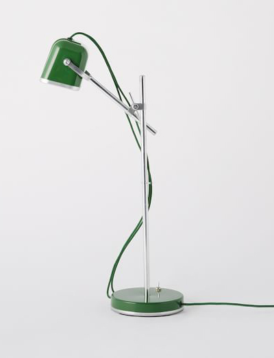 Swabdesign Green Task Lamp