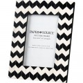 Black & White Chevron Picture Frame