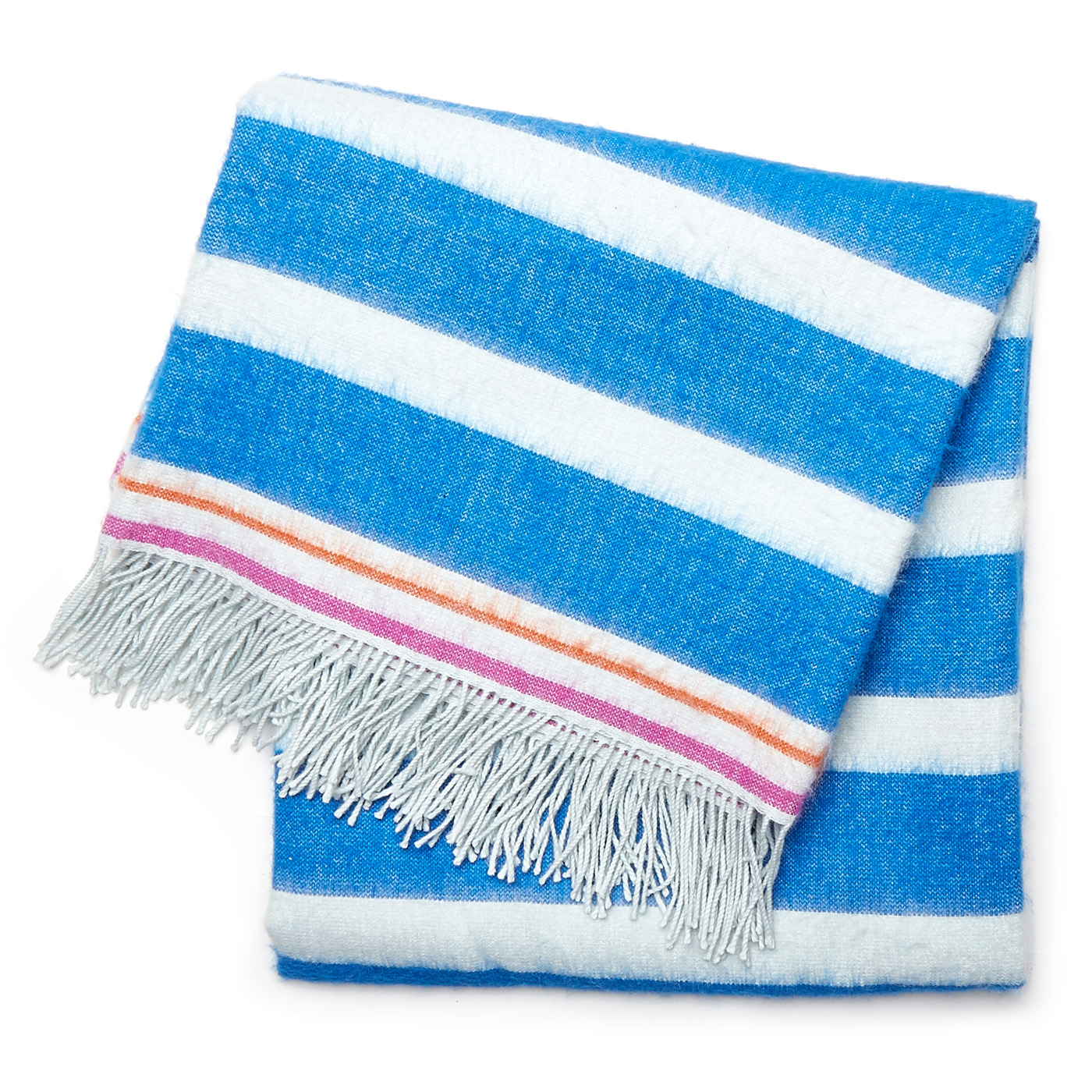 Jonathan Adler Stripe Alpaca Throw