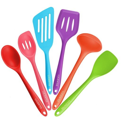 Lucentee® 6-Piece Silicone Cooking Set