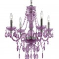 Naples Purple Chandelier by Elements