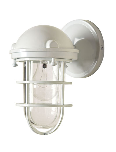 White Beacon Sconce