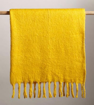 Homestead Marigold Throw