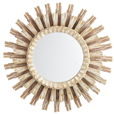 Rising Sunburst Mirror