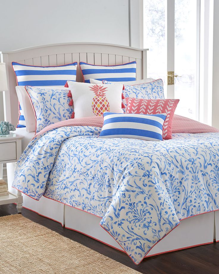 Westpoint Home Coastal Ikat Bedding