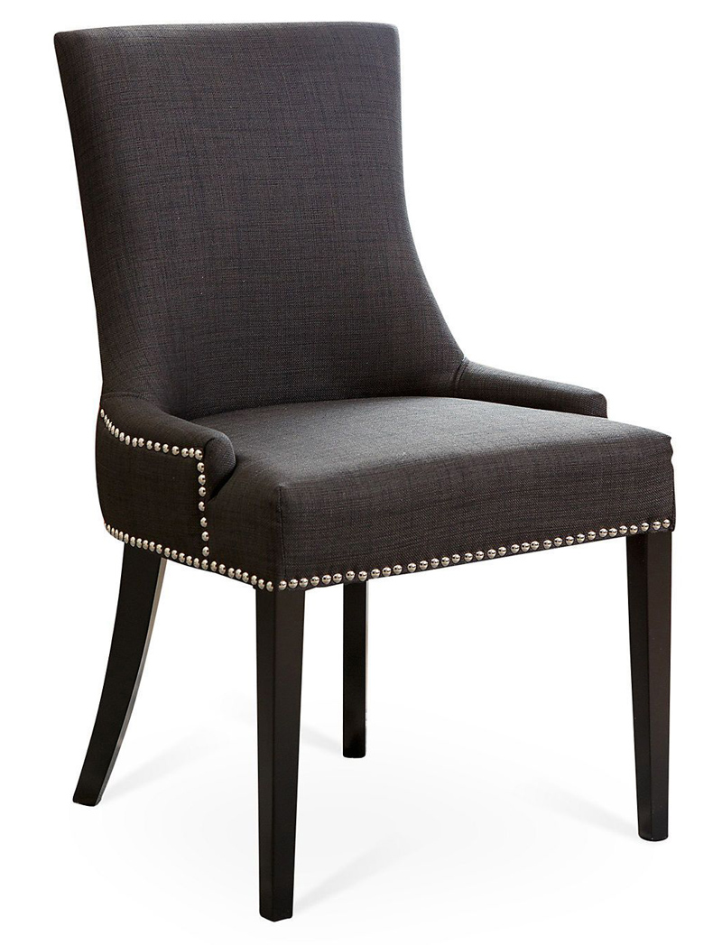 Gray Agoura Linen Dining Chair