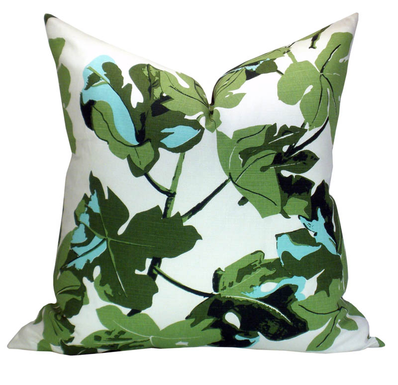 Peter Dunham Textiles Fig Leaf Pillow Cover