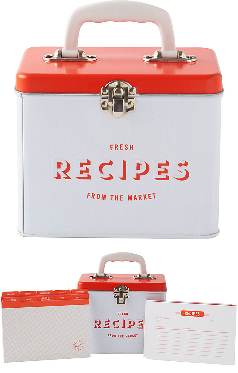 Produce Recipe Tin