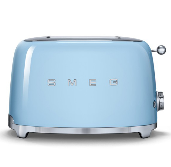 SMEG Pastel Blue Two-Slice Toaster