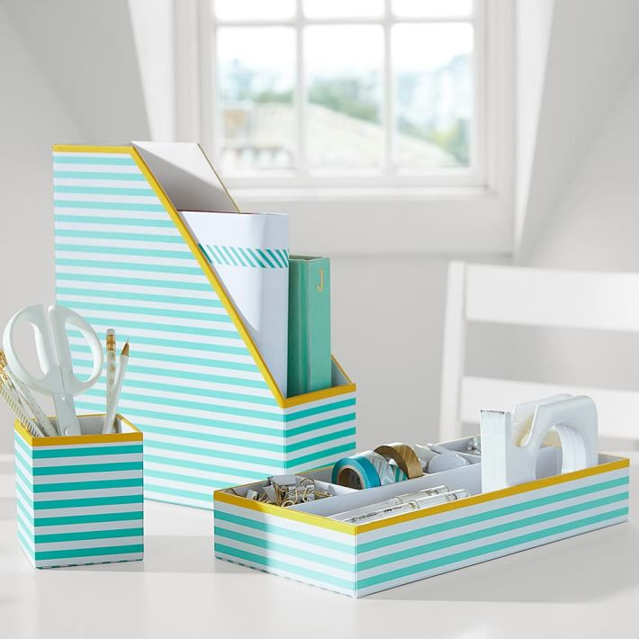 Decor by color - Desk organization accessories ...
