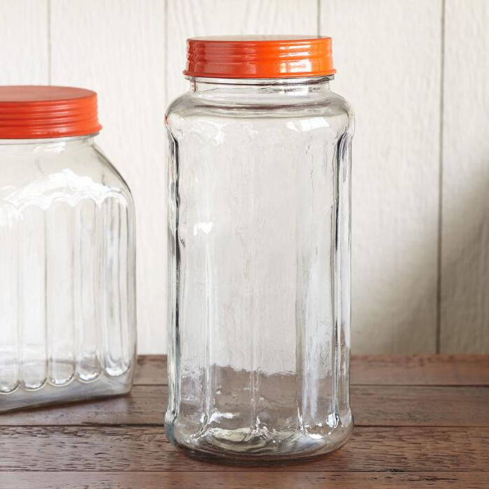 Clementine Glass Jars